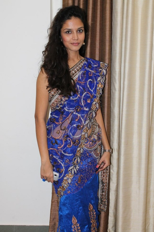 Manasi Moghe Miss Indian Diva 2013 in saree. photo
